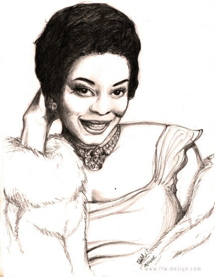 Dinah Washington by Camille